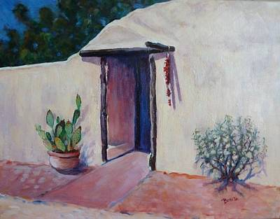 Painting - Adobe Welcome by Bonita Waitl