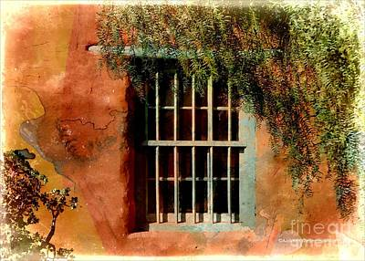 Photograph - Adobe Window by Audreen Gieger