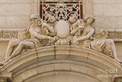 Art Print featuring the photograph Adolphus Hotel - Dallas #5 by Robert ONeil