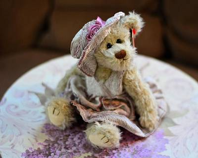 Adorable Little Teddy Bear Art Print
