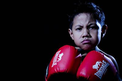 Kickboxer Photograph - Adorably Fierce by Mystique Asian