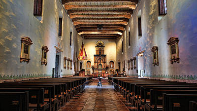 Photograph - Adoration - San Diego De Alcala by Stephen Stookey