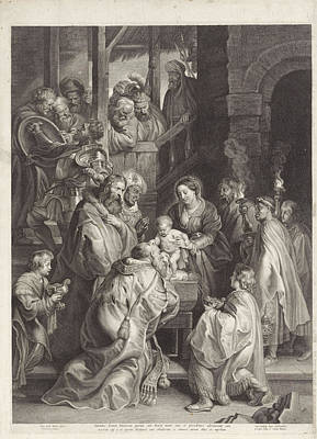 Adoration Of The Magi, Nicolaes Lauwers, Filips Iv King Art Print by Nicolaes Lauwers