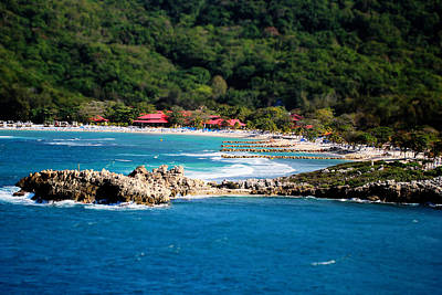 Photograph - Adrenaline Beach Labadee Haiti by Shelley Neff