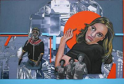Grafitti Mixed Media - 'adrenaline Performance' by Andy Waudby