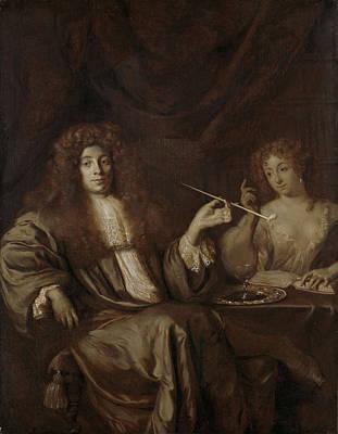 Adriaan Van Beverland, Writer Of Theological Works Art Print by Litz Collection
