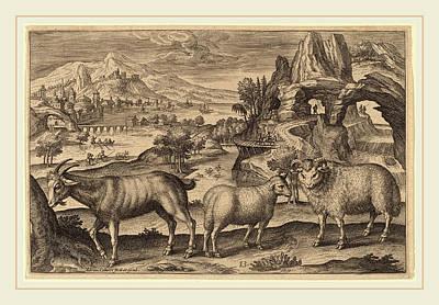 Flemish Drawing - Adriaen Collaert Flemish by Litz Collection