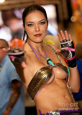 Photograph - Adrianne Curry As Christie Monteiro Of Tekken  by Andreas Schneider