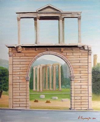 Adrian's Gate Original by Anastassios Mitropoulos