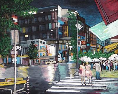 Painting - Adrian's Japan by Reb Frost