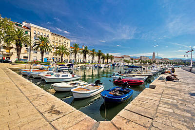 Photograph - Adriatic City Of Split View by Brch Photography
