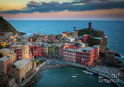 Vernazza Photograph - Adriatic Paradise by Inge Johnsson