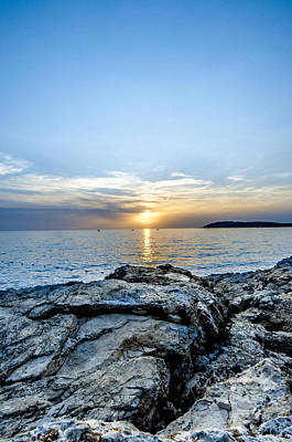Rowing Royalty Free Images - Adriatic Sea  Royalty-Free Image by Amel Dizdarevic