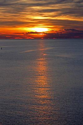 Photograph - Adriatic Sunset by Tony Murtagh