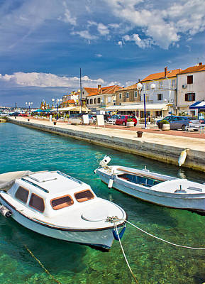 Photograph - Adriatic Town Of Biograd Na Moru Waterfront by Brch Photography