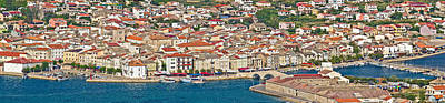 Photograph - Adriatic Town Of Pag Panorama by Brch Photography