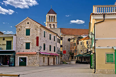 Photograph - Adriatic Town Of Vodice In Croatia by Brch Photography