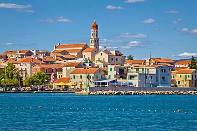 Katharine Hepburn - Adriatic village of Betina skyline by Brch Photography
