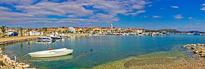 Soap Suds - Adrtiatic town of Pakostane panorama by Brch Photography