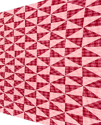Advancing Pattern Art Print by Douglas Barnett