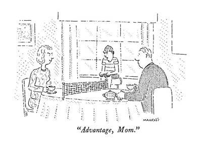 Advantage, Mom Art Print