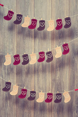 Advent Calendar Art Print by Amanda Elwell