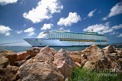 Adventure Of The Seas Art Print by Amy Cicconi