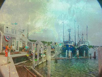 Cape Cod Digital Art - Adventurers by William Sargent