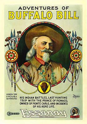Adventures Of Buffalo Bill Art Print