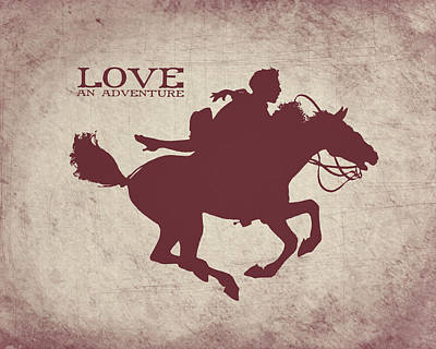 Valentines Day Digital Art - Adventurous Love by World Art Prints And Designs