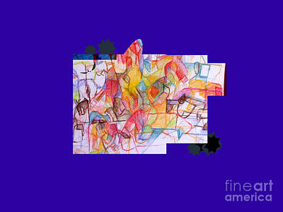 Inner Self Digital Art - Benefit Of Concealment 1a 2nd by David Baruch Wolk