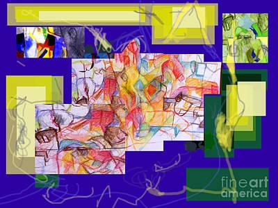 Inner Self Digital Art - Tzaddik Nistar 2 One by David Baruch Wolk
