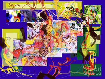 Inner Self Digital Art - Reviewed Behavior 2 by David Baruch Wolk