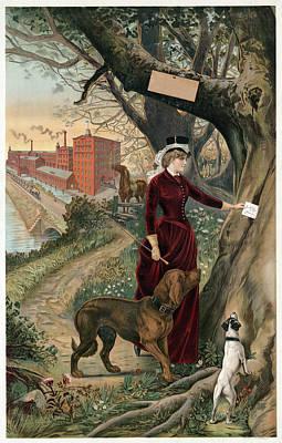Advertising Poster, C1886 Art Print
