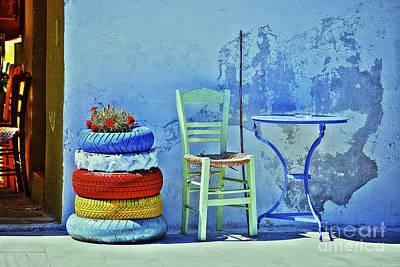 Aegean Colours Art Print