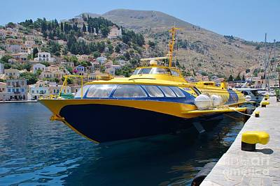 Symi Photograph - Aegean Prince II Symi by David Fowler