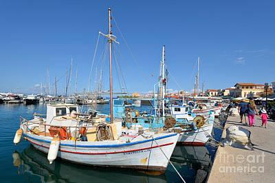 Photograph - Aegina Port by George Atsametakis