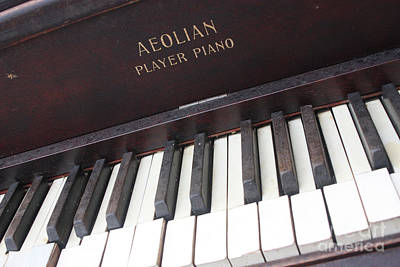 Aeolian Player Piano-3484 Art Print by Gary Gingrich Galleries