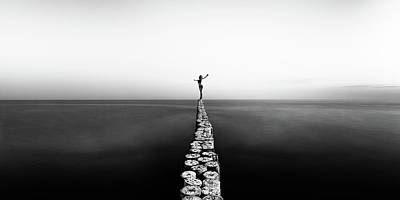 Pier Wall Art - Photograph - Aequilibrium by Patrick Odorizzi
