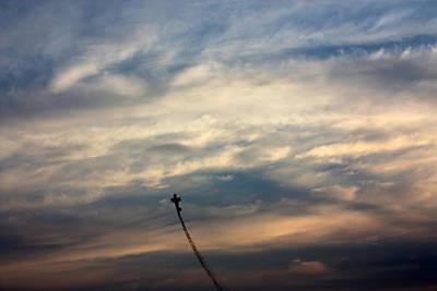 Stunt Flyer Photograph - Aerial Acrobat by Gerry Bates