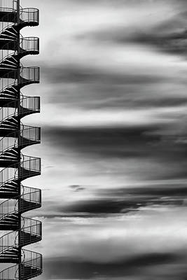 Spiral Wall Art - Photograph - Aerial Helix by Tomoshi Hara