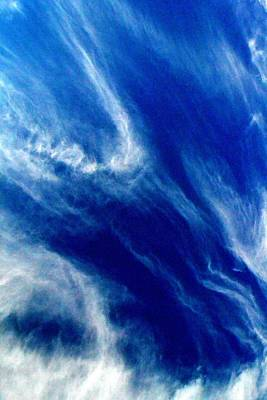 Art Print featuring the photograph Aerial Ocean by Carlee Ojeda
