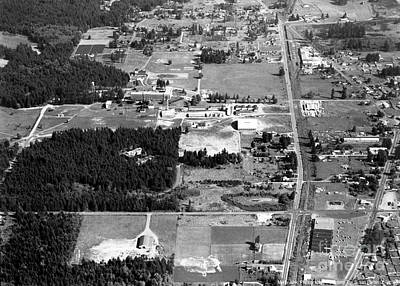 Photograph - Aerial Over City Of Lacey #1 by Merle Junk