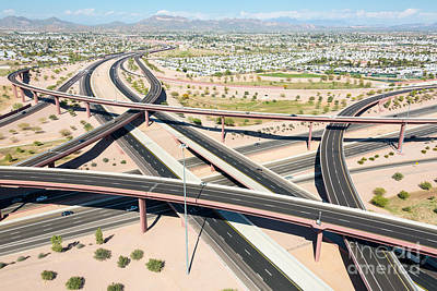 Photograph - Aerial Overpass by John Ferrante