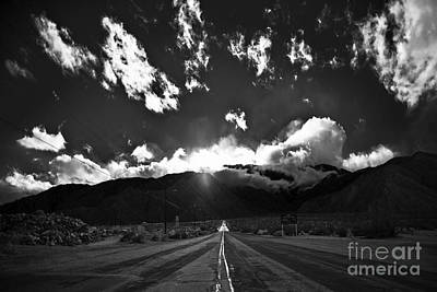 Aerial Tramway Photograph - Aerial Tram Road Palm Springs by Art K