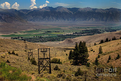 Photograph - Aerial Tramway Towers by Robert Bales