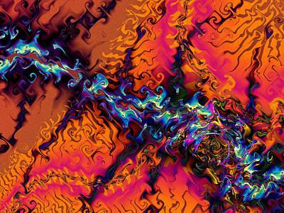 Digital Art - Aerial View by Kiki Art