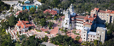 Luis Photograph - Aerial View Of A Castle On A Hill by Panoramic Images