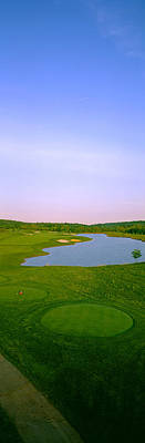 Maryland Photograph - Aerial View Of A Golf Course, Caves by Panoramic Images