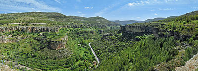 Rincon Photograph - Aerial View Of A Valley, Rincon Seco by Panoramic Images
